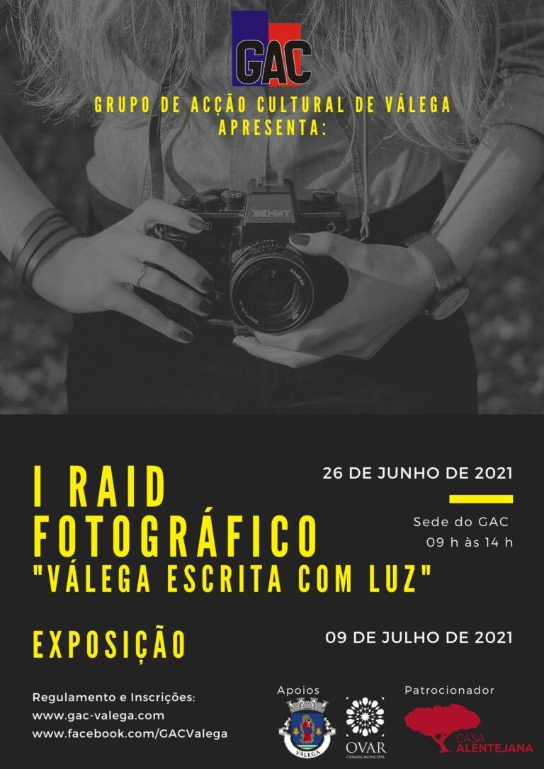 Cartaz Raid Fotografico